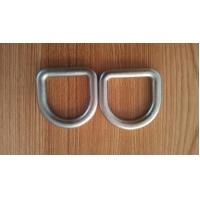 Cheap Stainless Steel D Shape Ring Safety D Buckle Forged Hardware M6 - M100 Size for sale