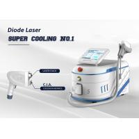 Cheap Diode Laser Hair Removal Machine Super Cooling Powerful Epilator 755 808 1064 Nm Triple Wavelength for sale
