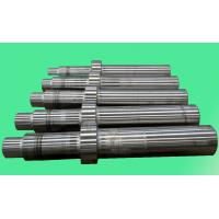 ISO 9001 2008 Precision Machining Forged Steel Spiral Rod , Hardened Steel Shaft