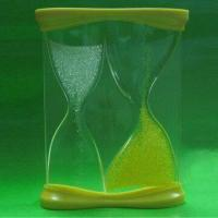 Cheap Promotional Sand Timer, Customized Colors and Logos are Accepted for sale