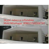 Cheap 0.55mm PVC Large Trade Show Exhibition Inflatable Tent For Advertising for sale