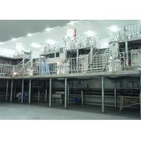 Cheap High Speed Liquid Soap Production Line / Industrial Liquid Detergent Plant for sale