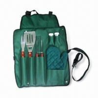 Cheap Barbeque Set with Spatula, Fork and Tongs, Suitable for Promotional Purposes for sale