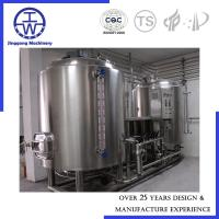 Cheap 1000L Beer Production Line Optional Automation SUS304 Pipeline Fittings for sale
