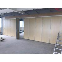 Cheap Sliding Movable Office Partition Wall With Wheels Maximum 6 Meters Height for sale