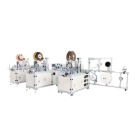 Cheap 13KW 90pcs/Min earloop Style Mask Making Machine for sale