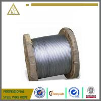Steel Wire Rope And Cable 1x19 1x7 3x7 With Certificate
