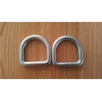 Cheap High Strength Safety D Rings Zinc Plated Buckle D Rings With Hot Forged for sale
