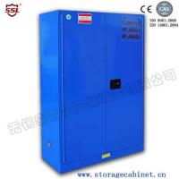 Cheap Blue Chemical Liquid Sulfuric Corrosive Storage Cabinet Iron and steel weak corrosive chemicals for sale