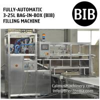 Cheap Fully-automatic High-speed BIB Bag Filling Machine Vitop Scholle Tap Bag in Box Filler for sale
