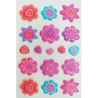 Buy cheap Removable 3D Foam Stickers beautiful With Silk Screen Printing from Wholesalers