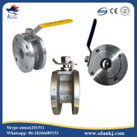 Buy cheap ANSI-150 Stainless steel 304/316/316L clamp type ball valve with ISO5211 from wholesalers