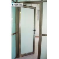 Cheap 6082 T5 / T6  Aluminum Door Frames Champagne Anodized With finished Machining for sale