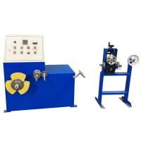 Cheap Enameled Automatic Cable Coiling Machine Aluminum Alloy Easy Operation cable manufacturing equipment for sale