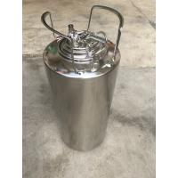 China Home Brew Beer 5 Gallon Cornelius Keg With Logo Printing on sale