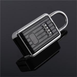 Cheap Large 4 Pin Coded Car Key Lock Box Heavy Duty Zinc Reinforced Body for sale