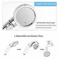 Cheap JK-2800 China sanitary ware factory supply three functions high water pressure hand shower chorme plated for sale