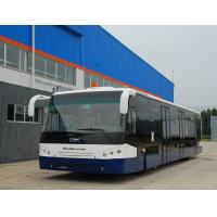 Cheap 14m Picking up 120 passengers bus airport Ramp Bus Fully Aluminum for sale
