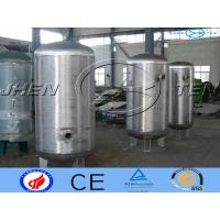 Cheap Milk Stainless Steel Pressure Vessel Storage For  Bioligy Health Tank for sale