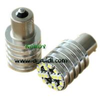 Cheap AUDI canbus 1156 18smd3528  8W Error Free LED Bulbs high bright chromed cylinder bulb for sale