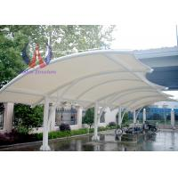 Cheap Solid Motorbike / Car Parking Tensile Structure / Tensile Car Parking Shades for sale