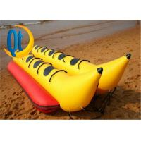 China PVC Fly Fish Yellow Banana Boat Double Inflatable Water Toys Crazy Water Game Toys For Kids And Adul on sale