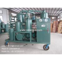 Cheap High Vacuum Transformer Oil Regeneration System, Oil Recycling Purifier ZYD-I-300(300LPM) for sale