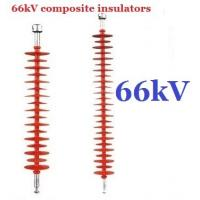 Cheap 66kv Substation Composite Suspension Insulator Long Rod With One Corona Ring wholesale