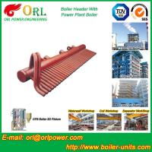 Buy cheap High Pressure CFB Boiler Header Steam Boiler Header with ASME from wholesalers