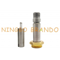 China Auto Drain Valve Parts Brass M20 Seat Stainless Steel Solenoid Plunger Tube Assembly on sale