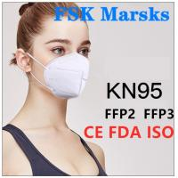 Cheap N99 N95 KN95 Surgical Mask Foldable Design For Anti Pollution Bacteria And Viruses for sale