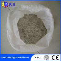 Cheap CA 80 Castable Refractory Cement Used in Machinery Processing , High Thermal Stability for sale