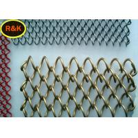 Cheap Multi Colors Construction Wire Mesh , Wire Mesh For Restaurants for sale