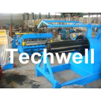 Cheap Q235 / Q350 0.2 - 2.0mm Carbon Steel, Color Steel Simple Slitting Cutting Machine Line for sale