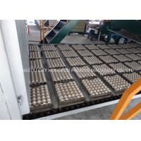 China High Efficiency 5000 Pieces Pulp Tray Machine For Egg Cartons 104KW on sale