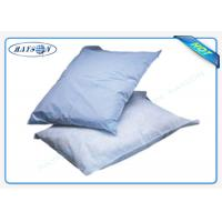 China Printed Logo Airline Non woven Pillow Cover / Headrest Cover OEM on sale