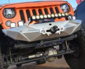 Cheap Jeep Wrangler JK Aggressive Front Bumper for sale