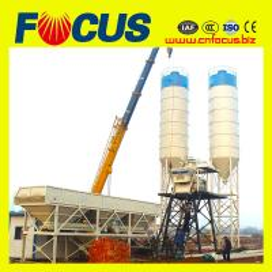Cheap New Condition HZS25 25cbm mini concrete mixing equipment for sale for sale