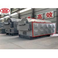 Cheap 3 Ton Small Wood Fired Biomass Steam Boiler For Textile Industry 4.1x 2.2x 2.9 for sale