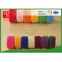 Cheap Double sided hook and loop tape 10 ~ 50mm nylon mix polyester / nylon hook and loop for sale