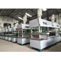 Cheap Semi-automated Pulp Molded Food Grade Tableware / Dinnerware Forming Machine for sale