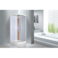 Cheap Curved Corner 900 X 900 X 2150mm Bathroom Glass Cabin for sale