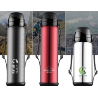 Cheap Triple Wall 65mm 800ml Thermos Vacuum Insulated Bottle for sale