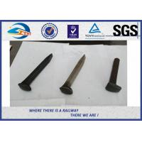 China AREM Q235 Carbon Steel Driving Railroad Spikes / Rail Road Spike on sale