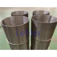 Cheap Sea Water Filtration Johnson Wedge Wire Screens Strong Construction ISO Certification for sale