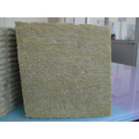 Rock wool slab with certificate of rock wool for Mineral wool r value