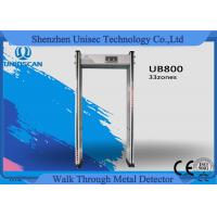 Cheap Guranteed By USA Market Original manufacturer 33 zone UB800 walk through metal detector Competition with Garrett PD6500i for sale