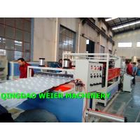 Cheap High Output Corrugated Sheet Machine PVC UPVC Bamboo Roofing Tiles for sale