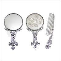 China custom vanity table with lighted mirror cosmetic pocket mirror with bom on sale