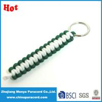 China paracord self defense keychain on sale
